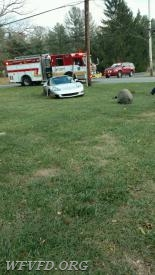 Rescue with Unknown Injuries on Triadelphia Road.