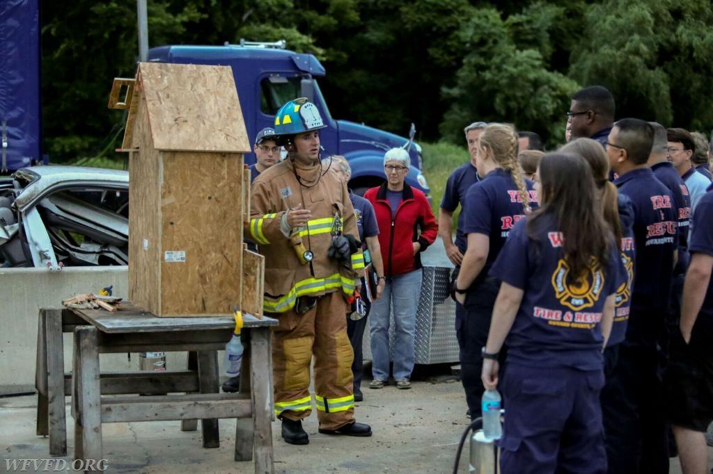 Photo courtesy of Doug Walton, HCDFRS Office of Community Outreach and Media Affairs