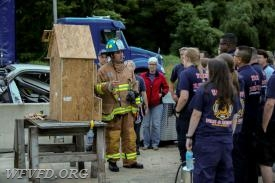 Photo courtesy of Doug Walton, HCDFRS Office of Community Outreach and Media Affairs