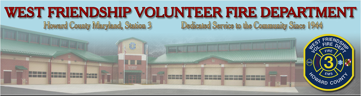 West Friendship Volunteer Fire Department - Howard County, MD Station 3